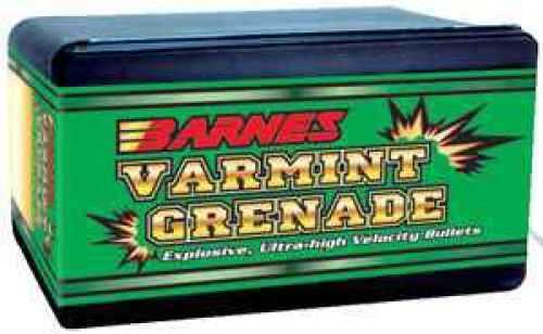 Barnes Bullets BAR 22Cal 36Gr Varmint Grenade 250/Box 30189