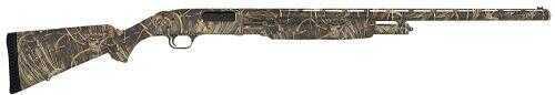 "Mossberg 500 Pump Action Shotgun Waterfowl 12 Gauge  28"" Barrel  Vented Rib  Fiber Optic Sights  Max 4  Camo 52266"