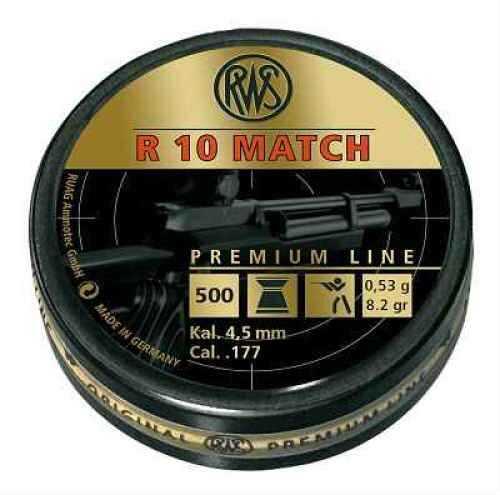 Umarex USA R10 Match Heavy .177 8.2gr (Per 500) 2315014