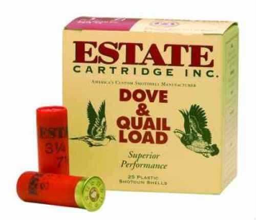 "Estate Cartridge 12 Ga. Heavy Upland Game 2 3/4"" 1 1/8 oz #6 Lead Shot 25 Rounds Per Box Ammunition Case Price HG126"
