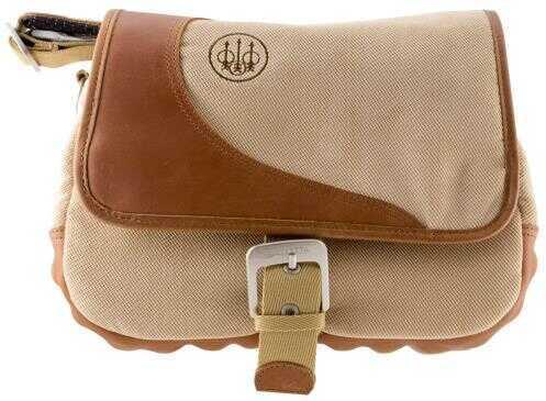 Beretta USA BIONE B1 Cartridge Bag Tan Canvas/Leather