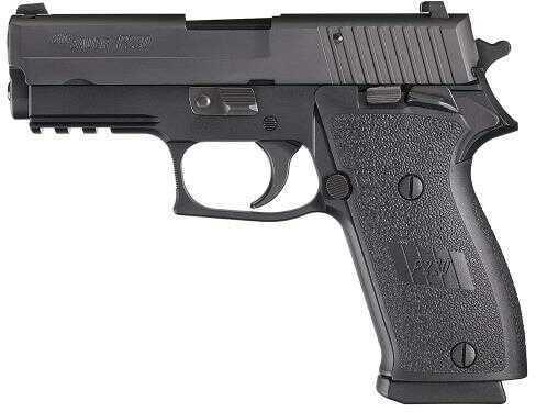 "Pistol Sig Sauer O P220 Carry SAO 45 ACP 3.9"" Barrel 8+1 Rounds Black Poly Grip Nitron 220R345BSSSA"