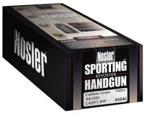 Nosler 44 Caliber 240 Gr JHP Handgun (Per 250) 44842