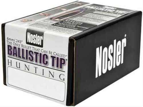 Nosler 30 Caliber 125 Gr Spitzer Ballistic Tip (Per 50) 30125