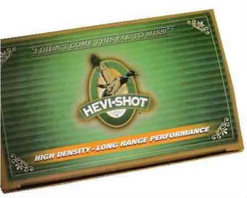 "Hevi-Shot Waterfowl High Density 10 Ga. 3.5"" 1 3/4 oz #4 Hevi-Shot 10 Rounds Per Box Ammunition Md: 10431"