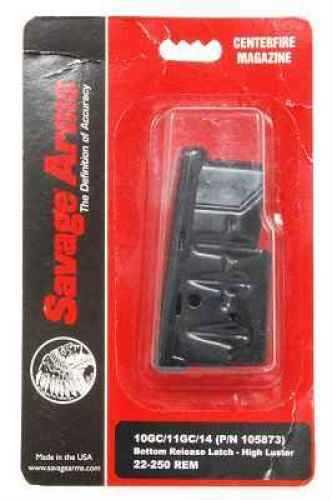 Savage Arms Magazine Box MKII/900, 5-Shot, 22 LR/17 Mach2, Stainless Steel 90007