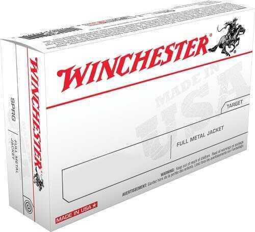 Winchester 9MM Luger 124 Grains FMJ 50 Rounds Ammunition Q4318