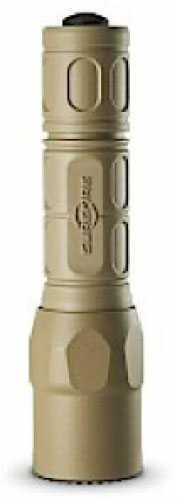 """Surefire Tactical Light 320 Lumens 2-123A 5.2""""L Tan G2XATN"""