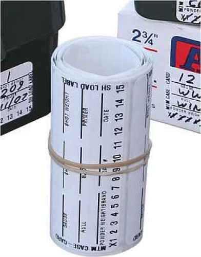 MTM Reloading labels for Shotgunners for easy load data 50 Pack LLS