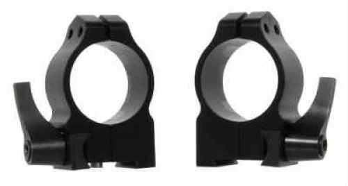 Warne 30mm Medium Quick Detach Matte Black Rings For Tikka 14TLM