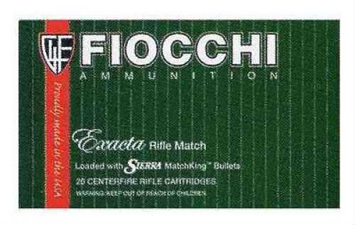 Fiocchii 308 Winchester Exacta 175 Grain Sierra MatchKing Ammunition 20 Rounds Per Box Md: 308MKD