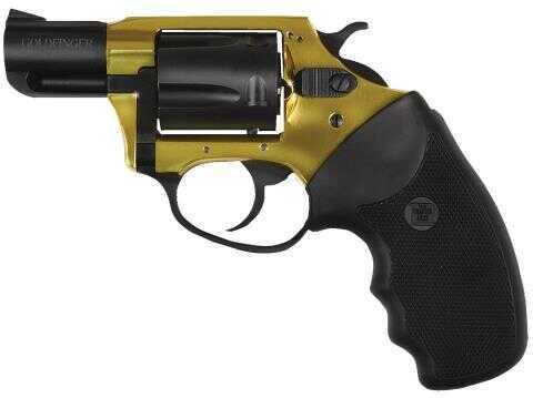 "Charter Arms 38 Special  Undercover Lite Goldfinger 5 Round 2"" Barrel  SA/DA  Gold/Black Revolver    53890"