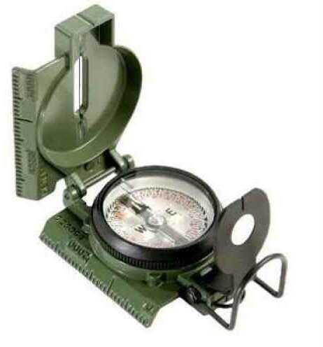 Cammenga Olive Drab Phosphorescent Lensatic Compass/Without Tritium Md: 27