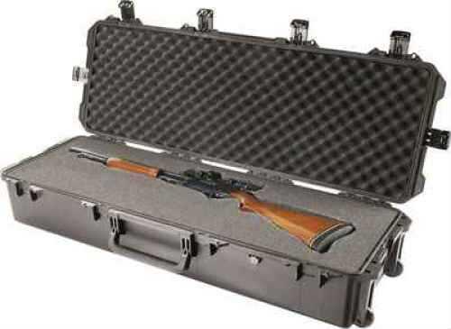 Pelican Storm 2 Gun Waterproof Case With Foam Inserts/Wheels/Black Finish IM3220