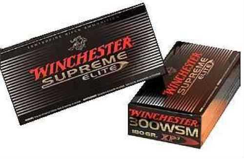 Winchester 300WSM 150 Grains E-Tip Lead Free Ammunition S300SETA