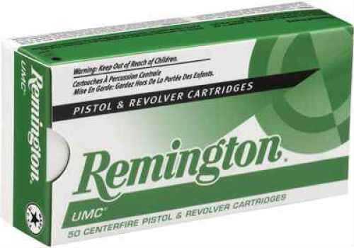 Remington UMC 40 S&W 165 Gr MC (Per 50) L40SW4 Ammo