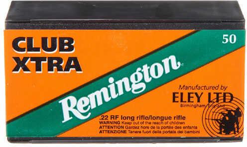 Remington 22 Long Rifle 40 Grain Lead Round Nose Ammunition 50 Rounds Per Box Md: RE22CX RE22CX