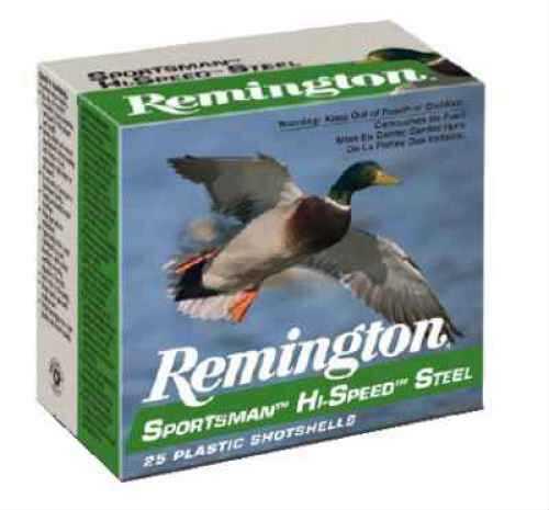 "Remington Sportsman 10 Ga. 3 1/2"" 1 3/8 oz #BB Steel Shot 25 Rounds Per Box Ammunition Case Price 250 Rounds SSTHV10B"