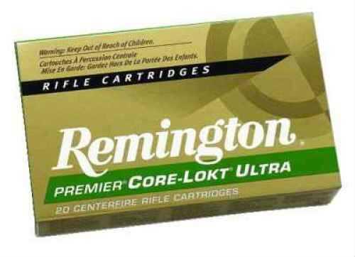 Remington 260 Rem 140 Grain Core-Lokt Ultra Bonded Ammunition 20 Rounds Per Box Md: PRC260RB