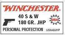 Winchester USA 380 AUTO 95GR FMJ 100BX USA380VP
