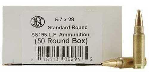 FNH USA 5.7x28MM Ammunition 5.7x28MM, SS195, LeadFree (Per 2000) 10700012