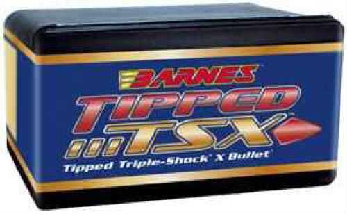 Barnes Bullets 25 Caliber Bullets .257 80gr Boat Tail (Per 50) 25731
