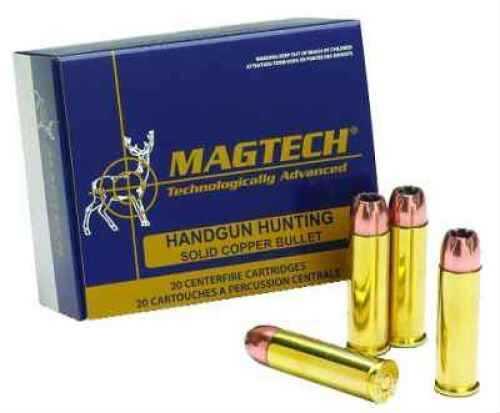 MagTech Ammunition Co. Magtech 45 GAP 165 Grain Solid Copper Hollow Point Ammunition Md: FD45GA
