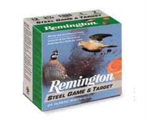 "Remington 20 Ga. 2 3/4"" 3/4 oz. #7 Steel Shot 25 Rounds Per Box Ammunition Md: GLSTL207 Case Price 250 Rounds GLSTL207"