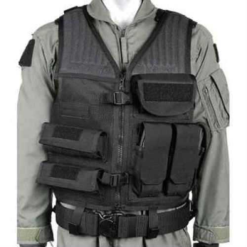 BlackHawk Products Group BlackHawk Omega CrossdraWith Pistol Mag Vest Md: 30EV26BK 30EV26BK