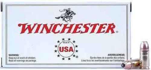 Winchester 38 Special 130 Grain Full Metal Jacket Ammunition Md: USA38SPVP