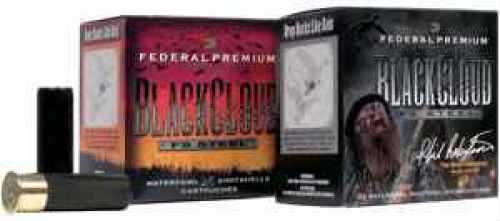 "Federal Cartridge Black Cloud Waterfowl 12 Ga. 2 3/4"" 1 oz. #3 Steel Shot Ammunition Md: PWB1463 Case Price 25 Rounds PWB1463"