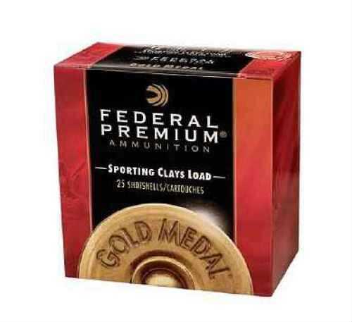 "Federal Gold Medal Paper 12 Ga. 2 3/4"" 1 oz. #7 1/2 Lead Shot Ammunition Md: TF17575"