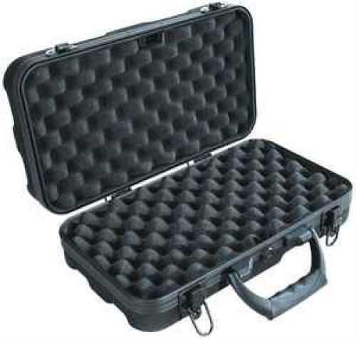 Vanguard Black Double Pistol Gun Case with Lock 30C