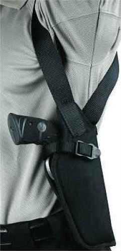 "BlackHawk Products Group BlackHawk Vertical Shoulder Holster/2""-3"" Small/Medium Double Action Revolvers Md: 40VH00BKR"
