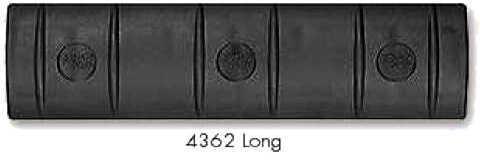 Ergo Falcon Industries Inc Long 15 Slot Full Black Rail Cover 4362BK