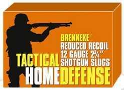 """Brenneke 12 Ga. 2 3/4"""" 1 oz Tactical Home Defense Slugs Ammunition Md: SL122THD"""