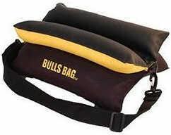 "Uncle Buds CSS Uncle Buds 10"" Black/Gold Bulls Bag Rest 16012"