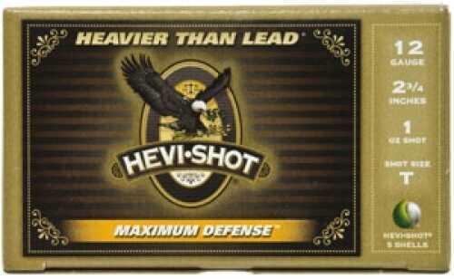 "Hevi-Shot Hevi Shot 12 Ga. 2 3/4"" 35 Pellets T Shot 5 Rounds Per Box Ammunition Md: 52751"