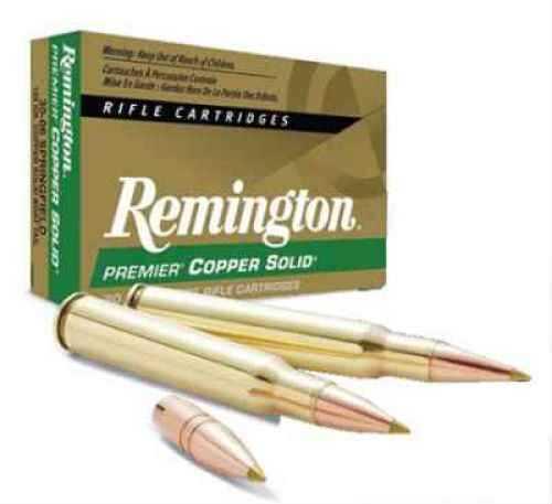 Remington 27693 300 Weatherby Premier BT Copper Solid Lead free 165 GR Ammunition PCS300WB