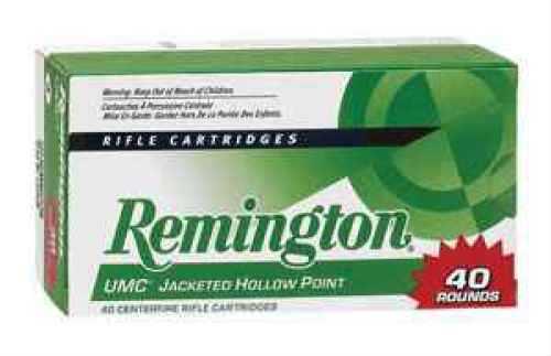Remington UMC 308 Win (7.62 NATO) FMJ 150 gr 40 Rounds Ammunition L308W4B