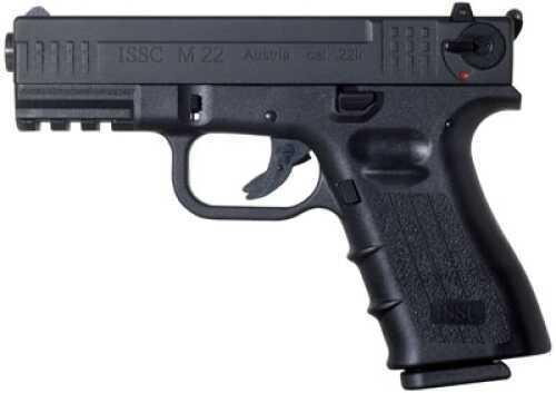 "ISSC Austria M22 Standard Semi Automatic Pistol 22 Long Rifle 5.5""Barrel 10+1 Rounds Polymer Grip Black Finish M111002"