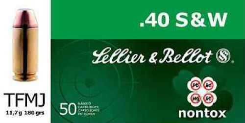 Sellier & Bellot 40 S&W 180 Grain FMJ Sellier&Bellot Ammunition V311232U
