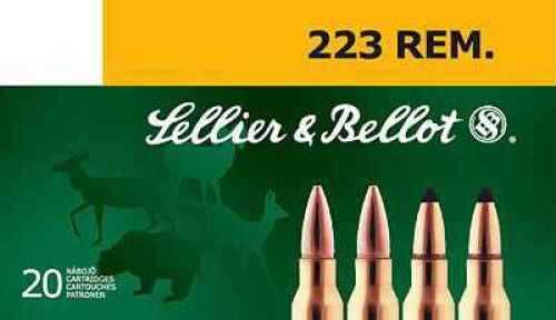 Sellier & Bellot 223 Rem. 55gr. Sellier&Bellot Ammo Ammunition V330212U