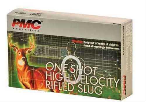 "PMC Ammunition Pmc 12ga Slug 2.75"" 1oz Per 5 Ammunition HV12RS"
