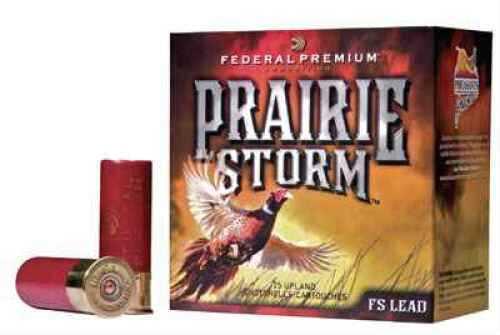 Federal Cartridge Prairie Storm 12 Ga 3in 1 5/8oz # 6 Per 25 Ammunition Case Price 250 Rounds PF129FS6
