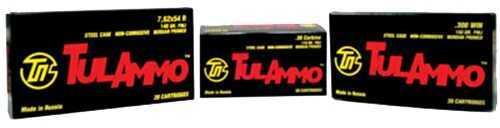 Tulammo 308 Win Full Metal Jacket 150 Grain Ammunition, 20 Rounds Per Box