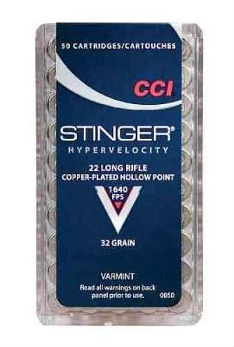 CCI 22 Long Rifle by 22 Long Rifle, LR Stinger HP (Per 50) 0050
