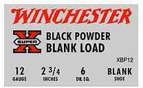 Winchester 12 Gauge Black Powder Blank 25 Rounds Per Box Ammunition Md: XBP12