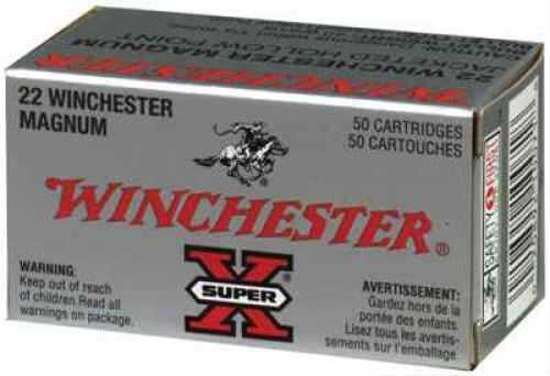 Winchester 22 Long Rifle 22 Long Rifle, 37gr Super-X Lead Hollow Point (Per 50) X22LRH
