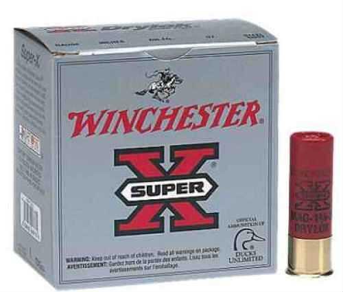 "Winchester 12 Ga. Super X Drylok 3"" 1 1/4 oz #BBB Plated Steel Shot 25 Rounds Per Box Ammunition Case Price 250 XSC123BBB"